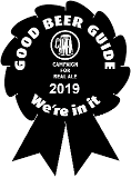 We are in the Good Beer Guide 2019